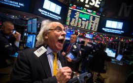 مؤشر داوجونز يرتفع إلى أعلى مستوى له على الإطلاق مدعوما بصعود الأسهم الصناعية الكبرى