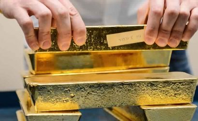 اسعار الذهب تنخفض اثر ارتفاع شهية المخاطرة لدى المستثمرين