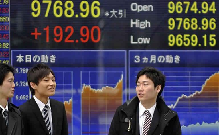 الاسهم اليابانية تتراجع بسبب قلق المستثمرين وعزوفهم عن المضاربة