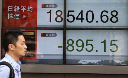 انخفاض الأسواق الآسيوية مع تصاعد العنف في هونغ كونغ والتوترات التجارية لا تزال قائمة