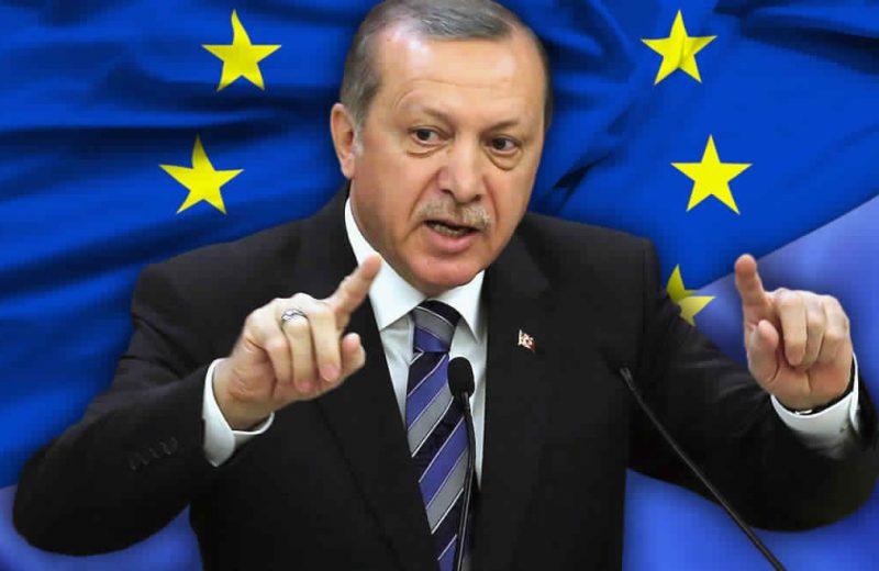 أردوغان يصرح بأن الإتحاد الأوروبي فشل في تنفيذ وعوده ويرحب بالعمل مع ترامب