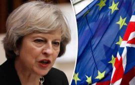 رئيسة وزراء بريطانيا تصرح بأهمية توسيع الروابط المشتركة مع الإتحاد الأوروبي