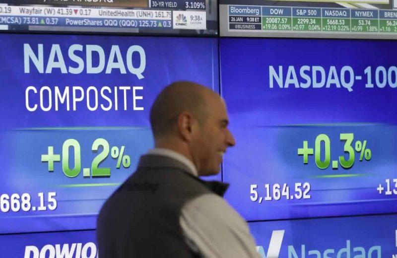 داوجونز يرتفع بنحو 200 نقطة على أمل أن يقوم الفيدرالي بخفض سعر الفائدة الثاني