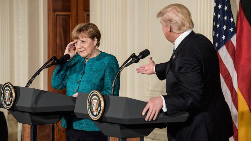 ميركل تسعى الى تجديد المفاوضات مع الولايات المتحدة بشأن التجارة الحرة