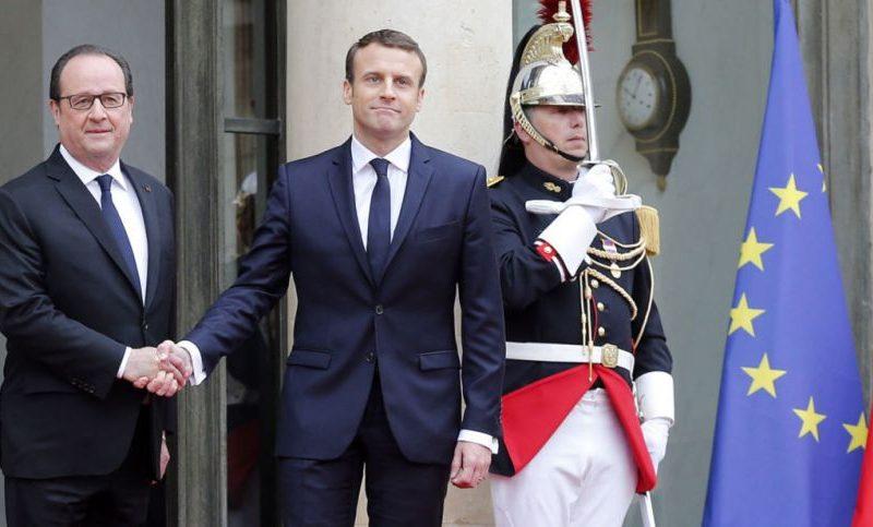 ماكرون يتعهد بإعادة الثقة لفرنسا خلال تنصيبه الرسمي