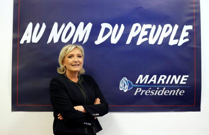 مارين لوبان تعتبر عملة اليورو حملا زائدا على الوظائف الفرنسية والاسعار