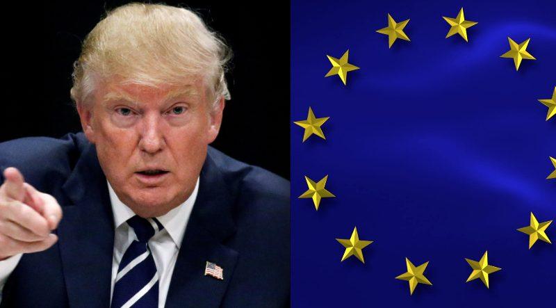 ترامب يتفق مع رئيس المفوضية الأوروبية على تعزيز التعاون التجاري