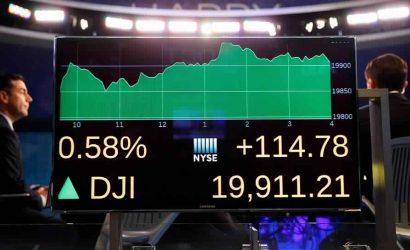 داوجونز يرتفع أكثر من 400 نقطة وسط تفاؤل بشأن صفقة تجارية محدودة
