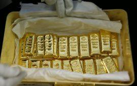 أسعار الذهب تستقر فوق 1270 دولار وتتجه لتحقيق مكاسب أسبوعية