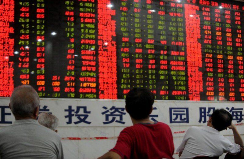 الأسهم الصينية تتكبد خسائر كبيرة وسط تحذيرات بشأن ارتفاع مؤشرات الإئتمان