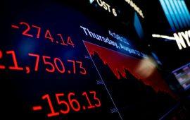 داوجونز يتحول للخسائر ويفقد 600 نقطة مع هبوط أرباح الشركات الأمريكية