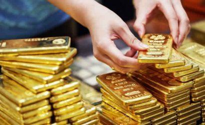 أسعار الذهب تغلق على انخفاض رغم التقلبات العالية في أسواق الأسهم الأمريكية