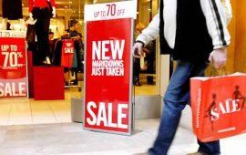 مبيعات التجزئة الأمريكية تنخفض أقل من التوقعات بنحو 0.3% خلال أبريل