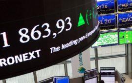 الأسهم الأوروبية تنهي أولى جلسات الأسبوع باللون الأخضر