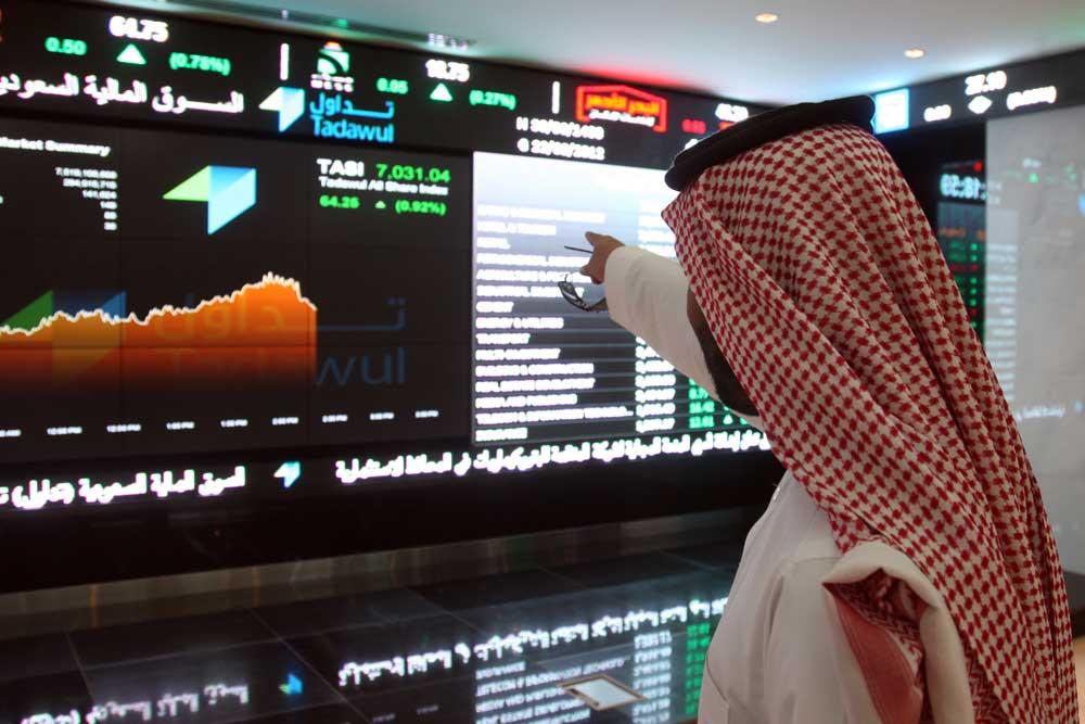 السوق السعودي يغلق مرتفعا فوق 7200 نقطة وسهم مصرف الراجحي يصعد بنحو 2%