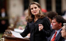 وزيرة خارجية كندا لا تستبعد خروج الولايات المتحدة من إتفاقية النافتا