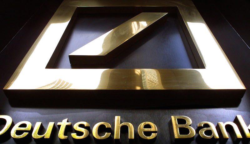 انخفاض الأسواق الأوروبية بضغط من تراجع أسهم دويتشه بنك