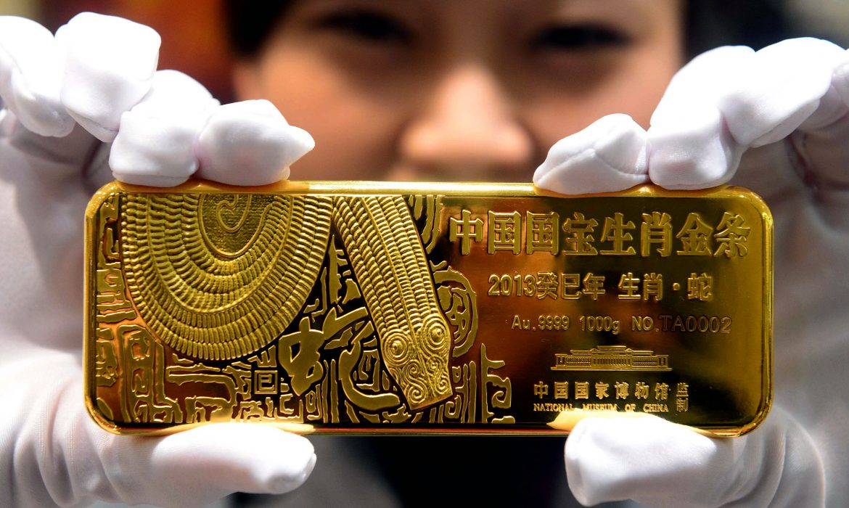 هبوط الأسواق الآسيوية يدفع أسعار الذهب للإرتفاع بالقرب من ذروة 12 أسبوعا