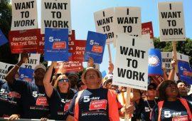 الشكاوي من البطالة الأمريكية تسجل ارتفاعا هاما إلى 261 ألف طلب