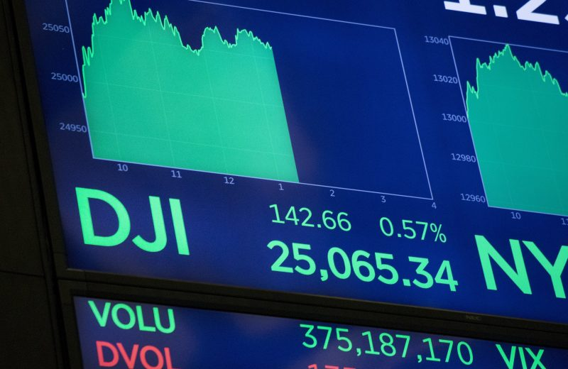 داوجونز يقفز بأكثر من 300 نقطة مع إشارة دراجي إلى خفض أسعار الفائدة قبل اجتماع الفيدرالي