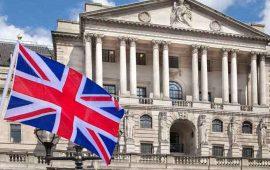 بنك انجلترا يبقي أسعار الفائدة دون تغيير عند 0.75%