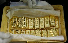 الذهب يتعافى قليلا من خسائره ليصعد فوق 1275 دولار