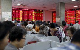 الأسهم الصينية تغلق منخفضة وسط ترقب نتائج المحادثات التجارية مع الولايات المتحدة