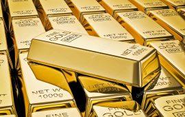 الذهب ينخفض نحو ادنى مستوياته في أسبوع بضغط من ارتفاع عائد السندات الأمريكية