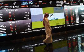 السوق السعودي يواصل خسائره للجلسة الثانية وسط ارتفاع السيولة