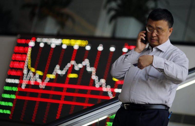 الأسواق الآسيوية تنخفض قليلا والمستثمرون يترقبون تطورات الحرب التجارية