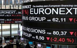الأسهم الأوروبية تتراجع بسبب التوترات الجيوسياسية