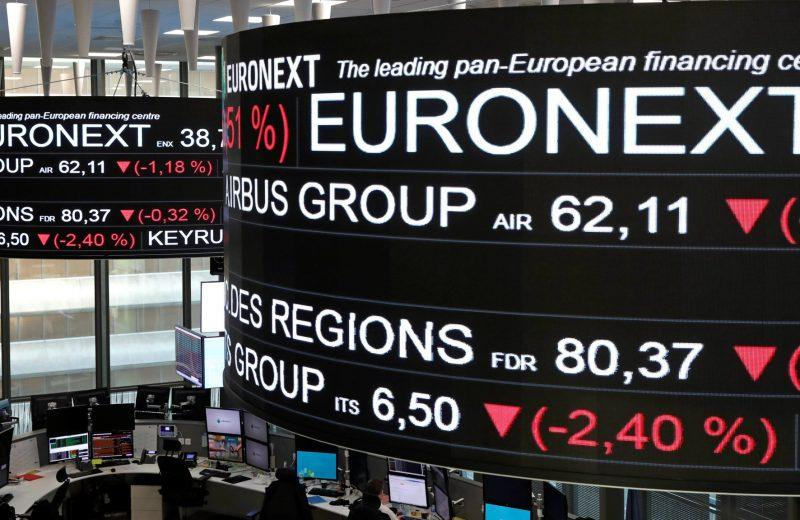 الأسهم الأوروبية تتراجع بسبب أزمة البريكست ومخاوف الحرب التجارية
