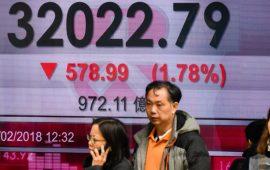 الأسهم اليابانية تغلق منخفضة بضغط من هبوط أسهم التكنولوجيا الأمريكية