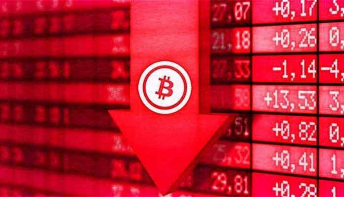 العملات الرقمية تتكبد خسائر حادة مع بداية الأسبوع