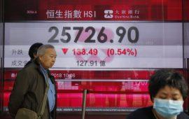 الأسواق الآسيوية تعود للهبوط بسبب المخاوف من النمو العالمي