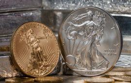 أسعار الذهب تنخفض مقابل ارتفاع الدولار مع تسوية تعاملات اليوم