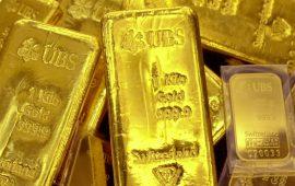 المعدن الأصفر يعود للهبوط دون 1245 دولار  وسط تقلبات كبيرة