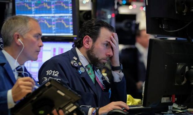 الأسهم المالية تشهد عمليات بيع كبيرة مع انخفاض عائدات السندات الأمريكية
