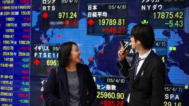 الأسواق الآسيوية ترتفع بالرغم من استمرار تباطؤ نمو اقتصاد كوريا الجنوبية