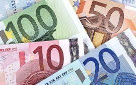 اليورو ينخفض رغم ارتفاع النشاط الإقتصادي الأوروبي