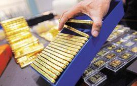 أسعار الذهب تستقر عند أعلى مستوى في 10 أشهر بعد محضر الفيدرالي