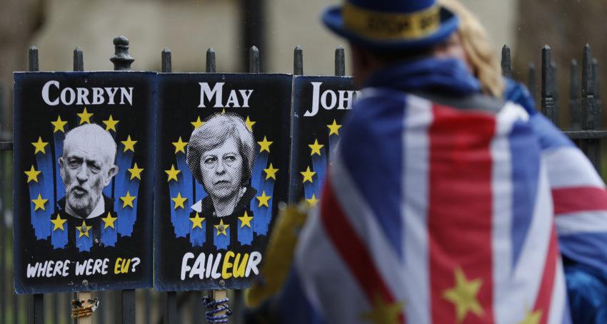 جيريمي كوربين زعيم حزب العمل البريطاني يدعو إلى إجراء إستفتاء ثاني على البريكست