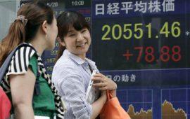 الأسواق الآسيوية ترتفع اثر تعافي عوائد السندات الأمريكية