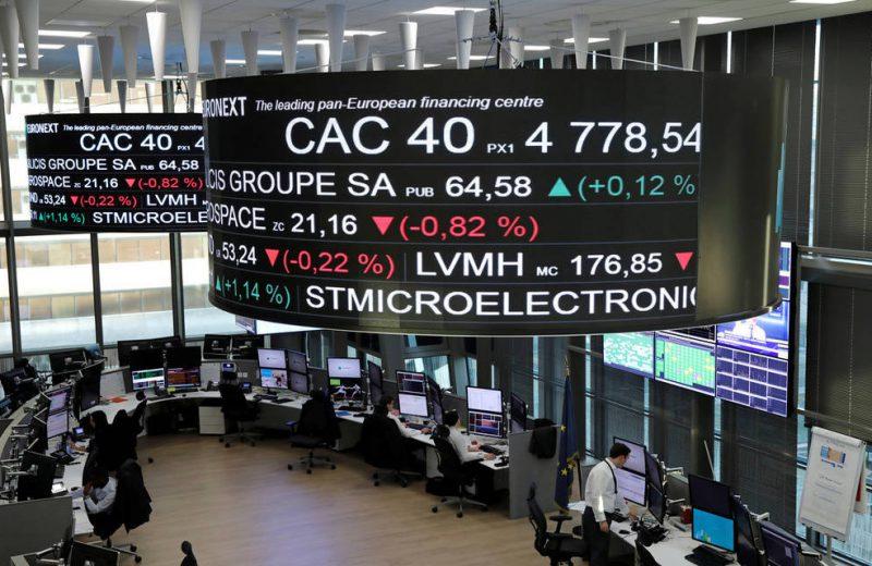 الأسهم الأوروبية متباينة مع استمرار مخاوف الركود