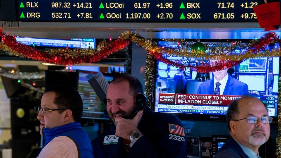 المستثمرون يضخون 1.7 مليار دولار  في صناديق الأسهم الأميركية