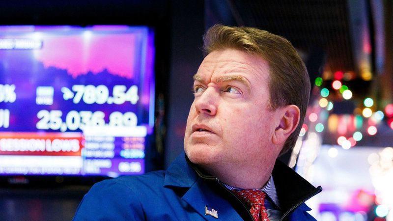 الأسهم الأمريكية تتراجع لليوم الثاني قبل اجتماع المجلس الاحتياطي الفيدرالي