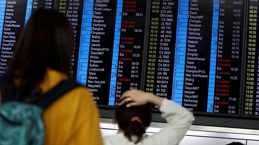الأسواق الآسيوية تتراجع مع استمرار التوترات في هونغ كونغ
