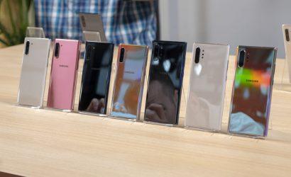 سامسونغ تطلق آخر نسخة من الهواتف الذكية