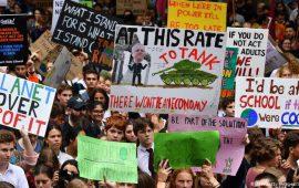 غوغل وفيسبوك وأمازون تشارك في مظاهرات مكافحة التغيير المناخي