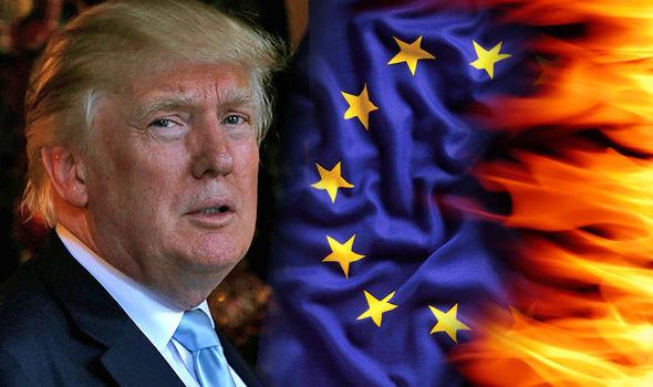 هل تستمر الحرب التجارية بين الولايات المتحدة والاتحاد الأوروبي ؟